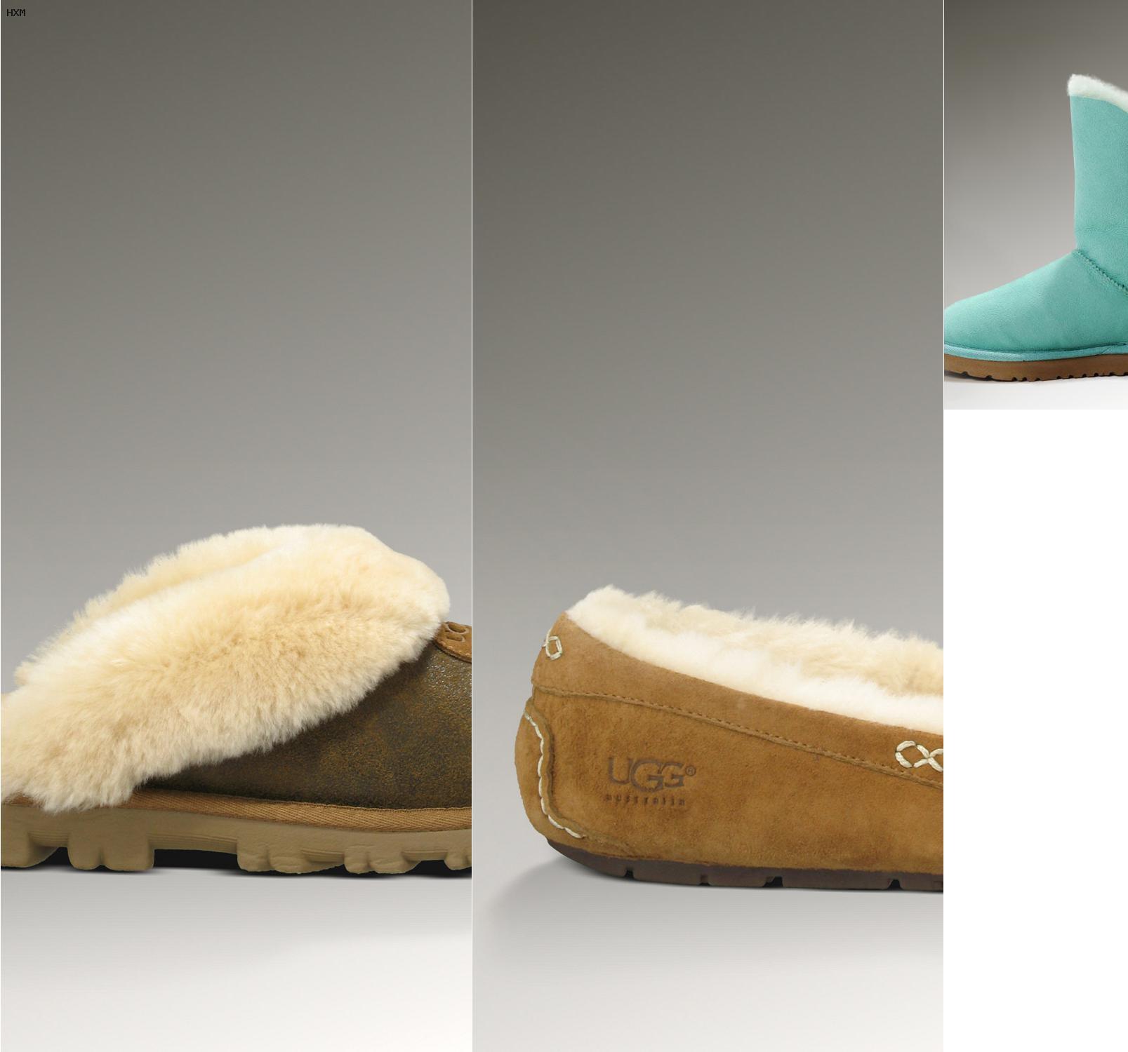 boots cuir femme ugg