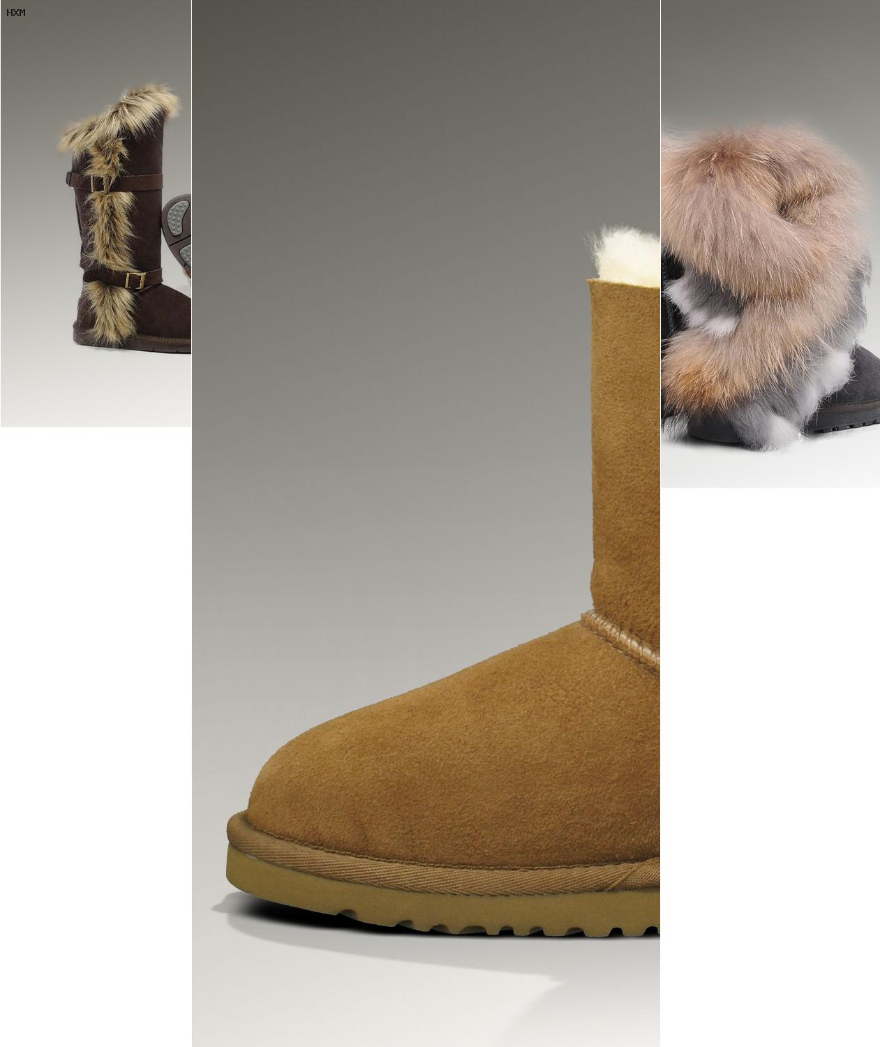ugg bailey button grise