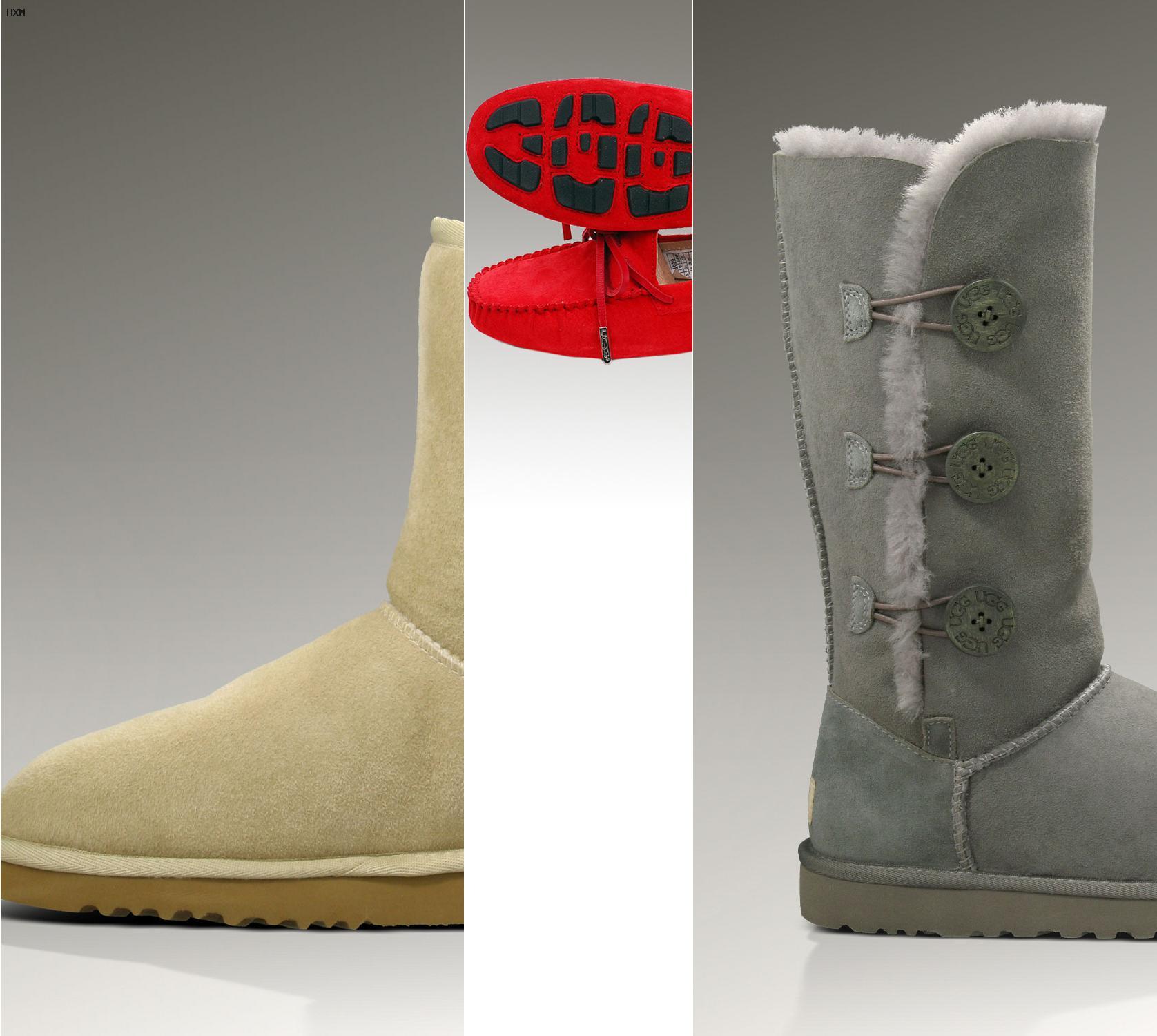 ugg boots en cuir